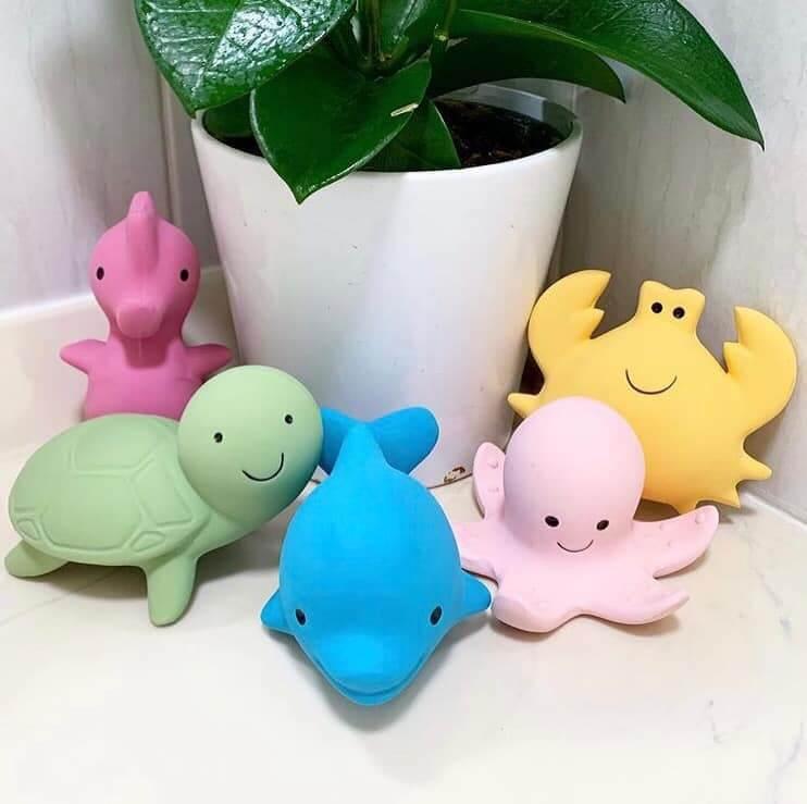 bath buddies tikiri natural rubber