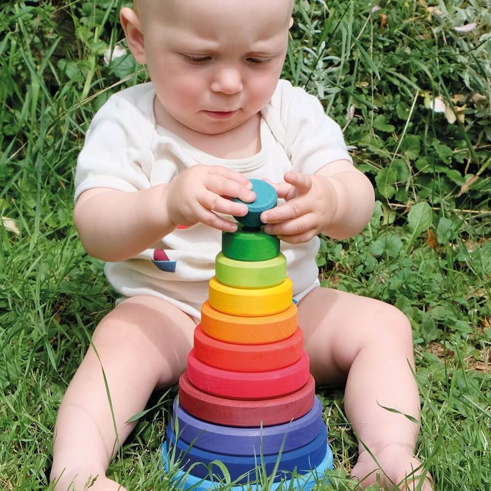 Rainbow conical tower grimms